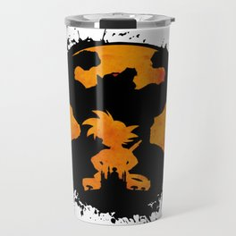 Goku Dragon Ball King Monkey Saiyan Primitive Travel Mug