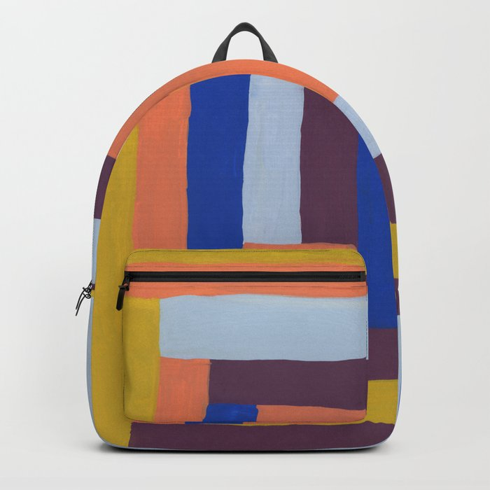 Painted color blocks Rucksack