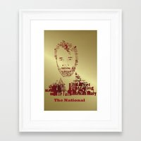 the national Framed Art Prints featuring The National by Luke Eckstein