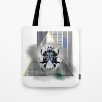 egypt Tote Bags featuring egypt by Gabriele Omar Lakhal