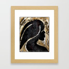 Whipped Hot Chocolate Framed Art Print