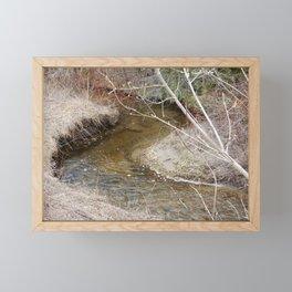 Winding Stream Framed Mini Art Print