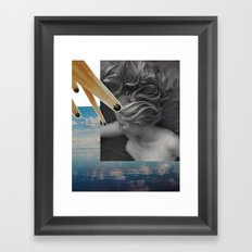 every day is like sunday Framed Art Print