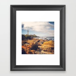 Pigeon Point Lighthouse Framed Art Print