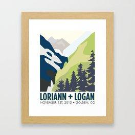 Laura's Poster Framed Art Print