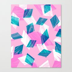 Marble Gems Canvas Print