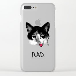 RAD. Clear iPhone Case