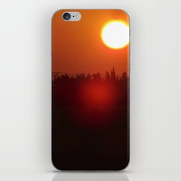 Spanish Sunset iPhone Skin