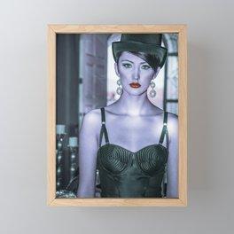 4891 Debutante Mistress Natasha Framed Mini Art Print