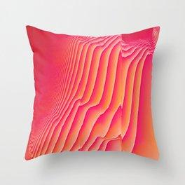 Sorbet Melt Throw Pillow