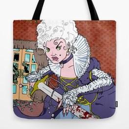 Jeannette-Marie, Zombie Slayer of Marseille Tote Bag