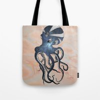 goddess Tote Bags featuring Goddess by Janss