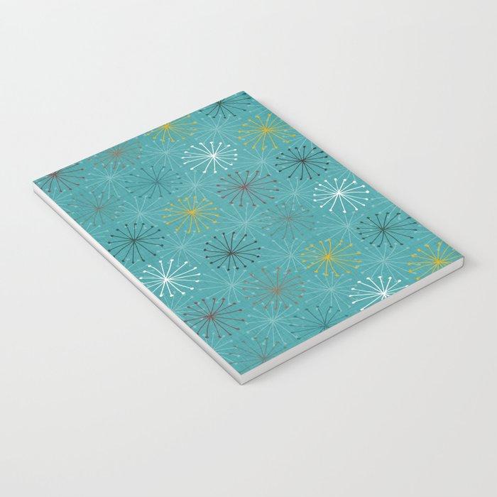 seedheads blue Notebook