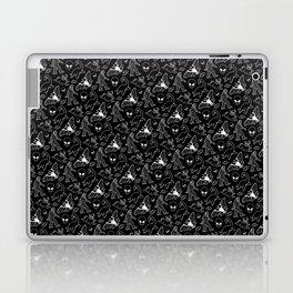 Cryptid Pattern: White Lines Laptop & iPad Skin
