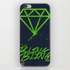 The BlingBling Thing iPhone & iPod Skin