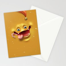 Christmas mad face Stationery Cards