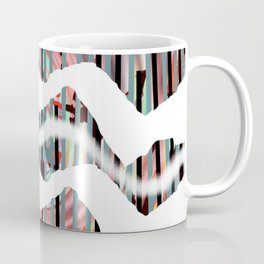 White Line Coffee Mug
