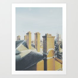 Chim-chiminey Art Print