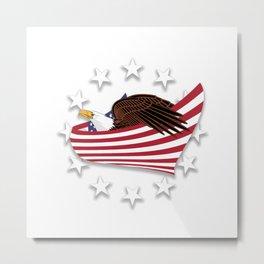 Eagle of the free V1.0 Metal Print