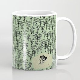 Forest house pattern Coffee Mug