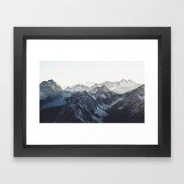 Mountain Mood Framed Art Print