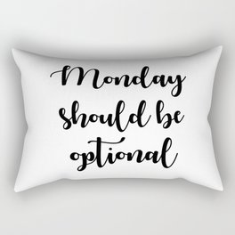 Monday Rectangular Pillow
