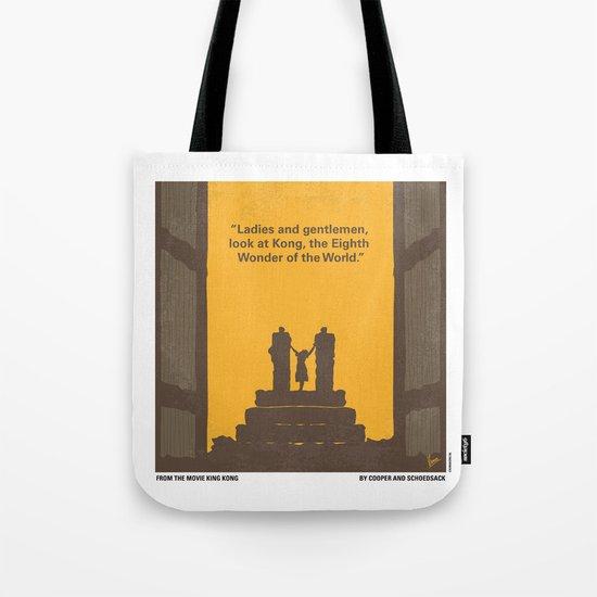 No133 My KING KONG minimal movie poster Tote Bag