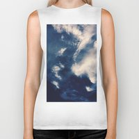 earth Biker Tanks featuring Earth  by Jane Lacey Smith