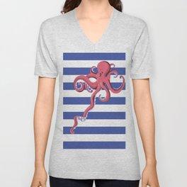 Squid Unisex V-Neck