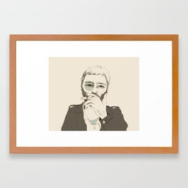 The New Ramon Framed Art Print