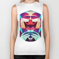 glee Biker Tanks featuring Well, This Is Weird by Anai Greog