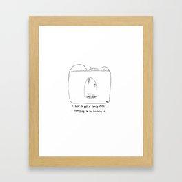 Cavity Framed Art Print