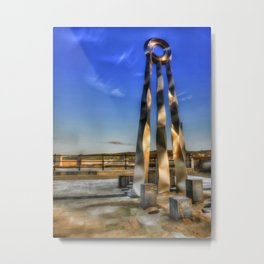 The start and the End  Metal Print