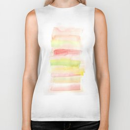 171122 Self Expression 7| Abstract Watercolors Biker Tank