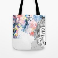 creativity Tote Bags featuring Creativity by p-antiscians