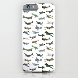 Various WW2 Planes iPhone Case
