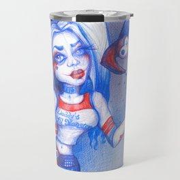 Harley Quinn Travel Mug