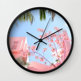 The perfect place Wall Clock
