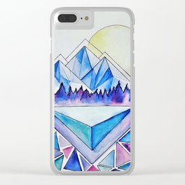 Rockies at Dusk Clear iPhone Case
