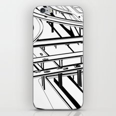 Los Angeles Black and White iPhone & iPod Skin
