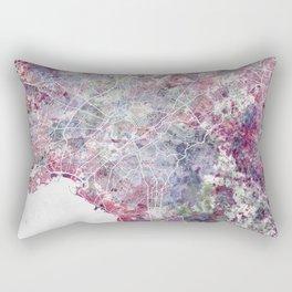 Athens map Rectangular Pillow