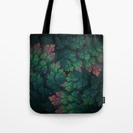 Cosmic Flora Tote Bag