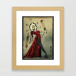 PATCHY Framed Art Print