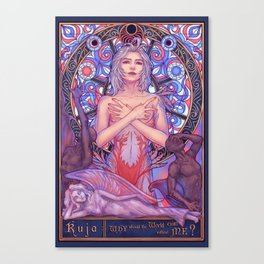 Kuja Canvas Print