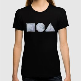 ⃞⃝△ (square circle triangle) T-shirt