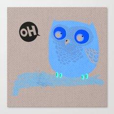 Oh-Owl~ Canvas Print
