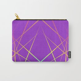 Laser Light Show - Purple Carry-All Pouch