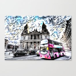 London Classic Art Canvas Print