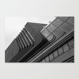 Zaha Hadid Building in Vienna Canvas Print