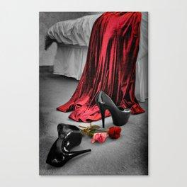 Stiletto Fetiche Canvas Print